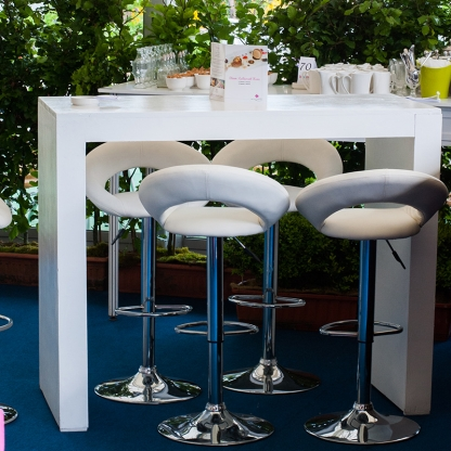 Network Table - White H43in x 24in
