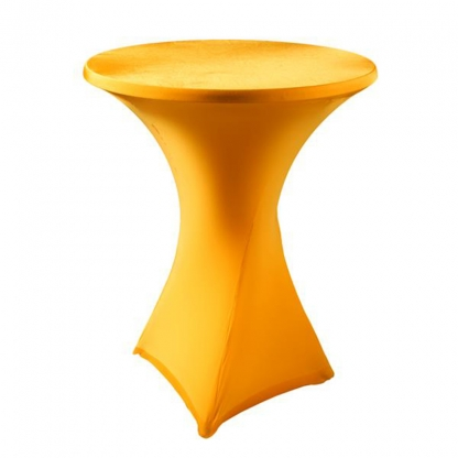 Spandex Pod Table Cover Orange