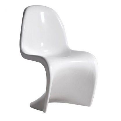 Panton S Shape Chair Gloss White