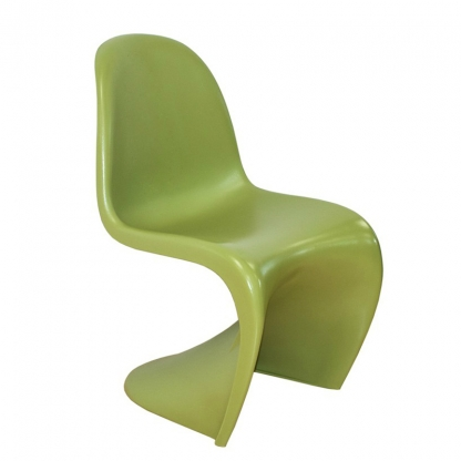 Panton S Shape Chair Matt Green