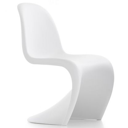 Panton S Shape Chair Matt White
