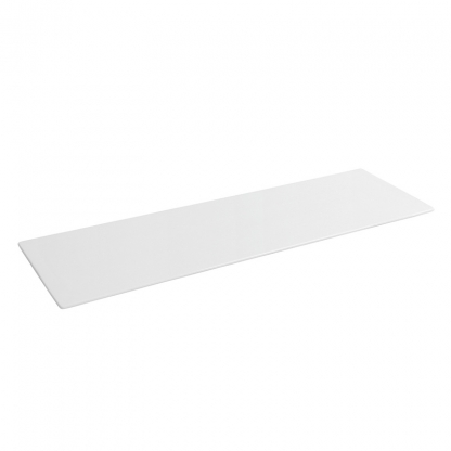 Platter Rectangular White 15in x 10.5in