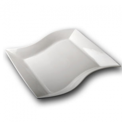 Platter Square Curved 18in x 18in