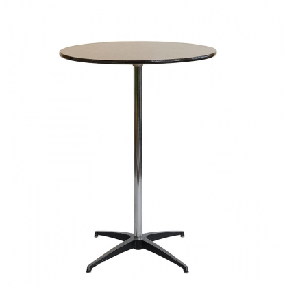Pod Table Black Round 31.5in