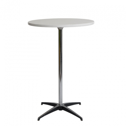 Pod Table White Round 27.5in
