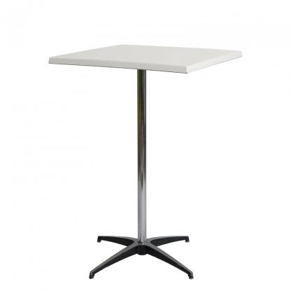 Pod Table White Square 27.5in