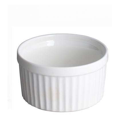 Ramekin Dish White 2in x 1in