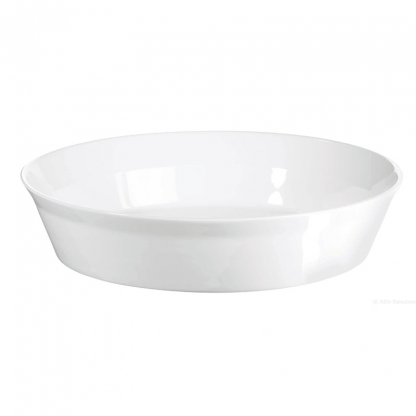 Serving Bowl Oval White 9in x 7in