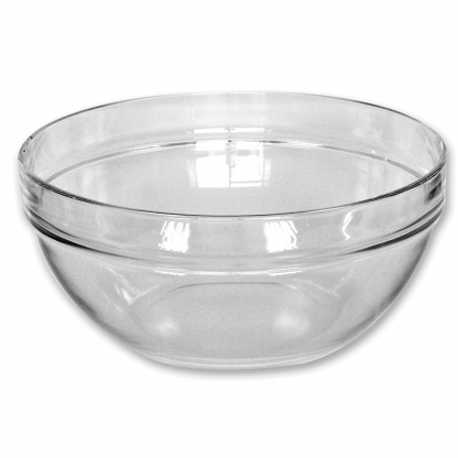 Serving Bowl Round Glass 7in / 2 Litre