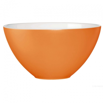 Serving Bowl Round Orange 12in