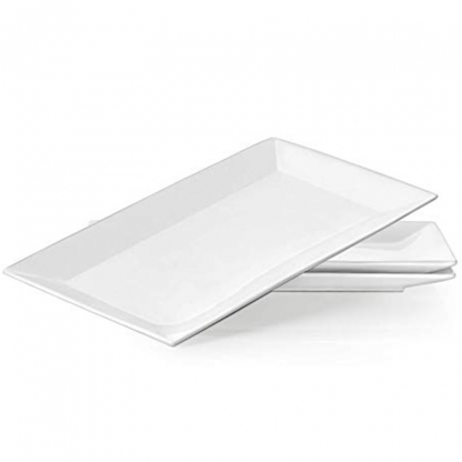 Serving Dish Rectangular White 15in x 9in
