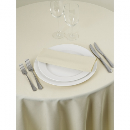 Signature Linen Napkin Ivory 20in x 20in