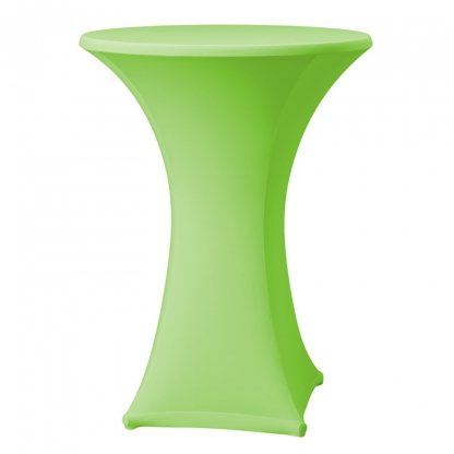 Spandex Pod Table Cover Apple Green