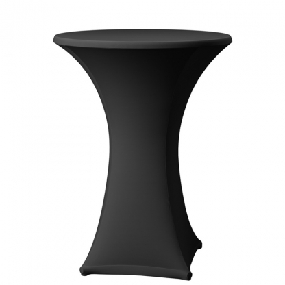 Spandex Pod Table Cover Black