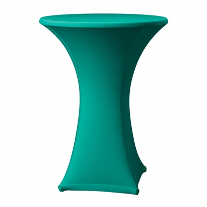Spandex Pod Table Cover Hunter Green