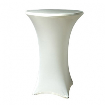 Spandex Pod Table Cover Ivory