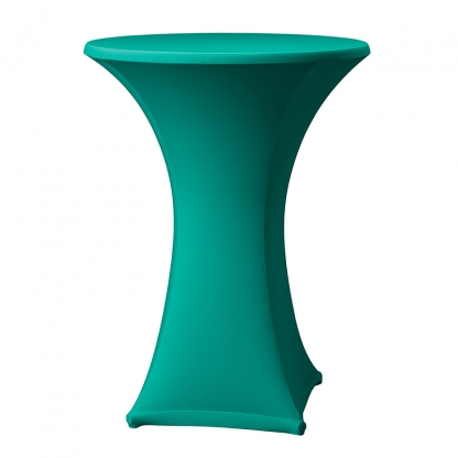 Spandex Pod Table Cover Kelly Green