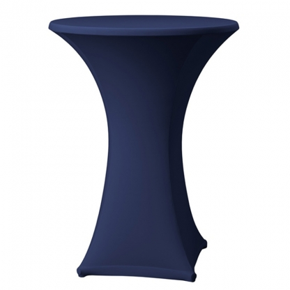 Spandex Pod Table Cover Navy Blue