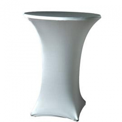 Spandex Pod Table Cover Silver Grey