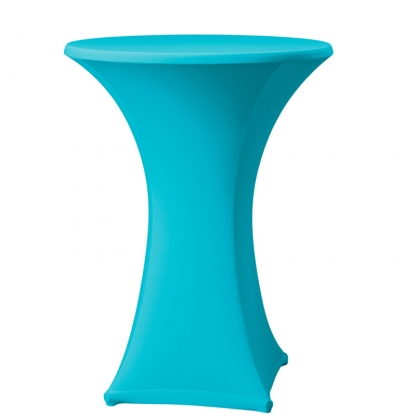 Spandex Pod Table Cover Turquoise