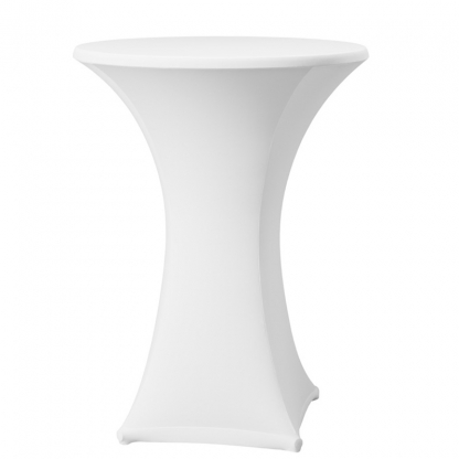 Spandex Pod Table Cover White