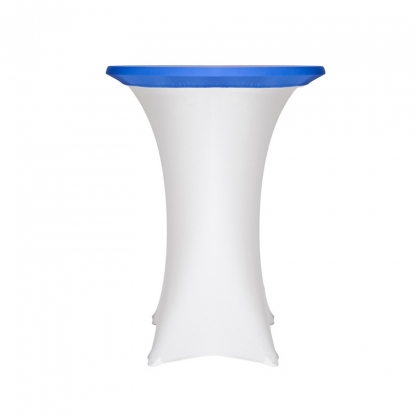 Spandex Pod Table Topper Blue