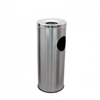 Stand Up Ashtray Stainless Steel