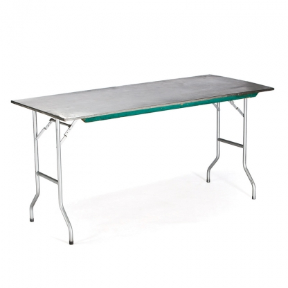 Table Rectangular Stainless Steel 6ft x 24in