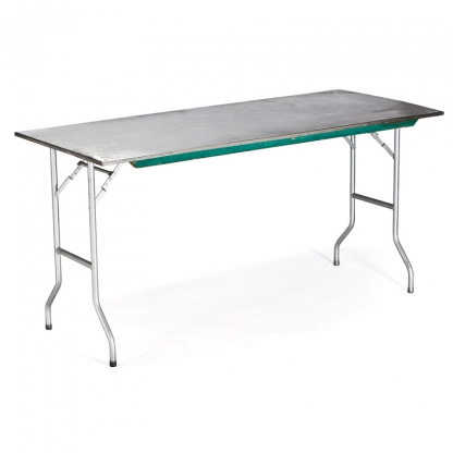 Table Rectangular Stainless Steel 6ft x 36in
