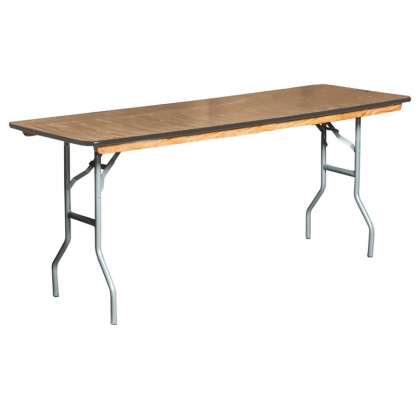 Table Rectangular Plywood 6ft x 24in