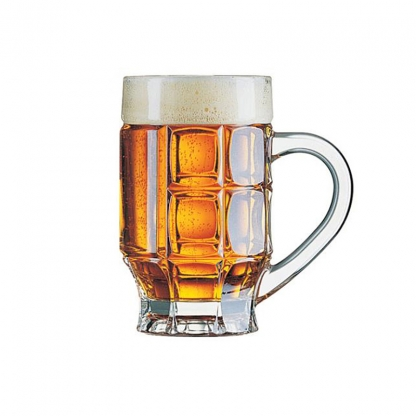 Tankard Glass with Handle (36 glasses per rack)