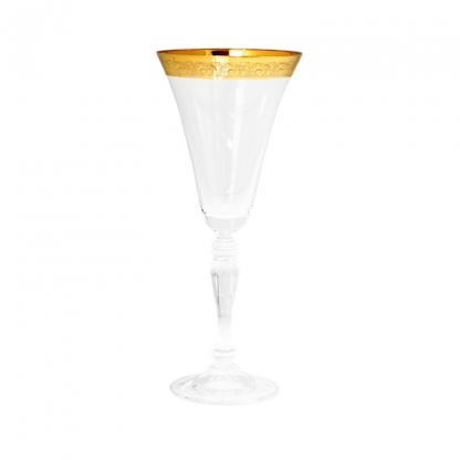 Victoria Gold Rim Red Wine Glass 10oz