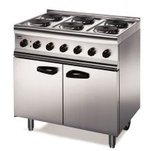 6 Ring Industrial Range and Cooker (Elec.)