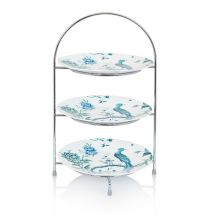 Afternoon Tea Stand Silver 3 Tier 5in
