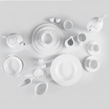 Arctic White Crockery Set