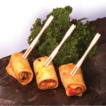 Bamboo Buffet Fork 3.5in (Pack of 50)