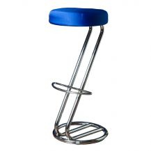 Zeus Bar Stool Cover Royal Blue