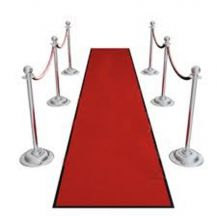Carpet Walkway All Weather Red 21ft/6.4m