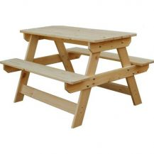 Children's Wooden Picnic Bench