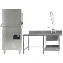 Dishwasher Unit with Pre Rinse Sink and Tables