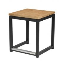 Cube Black Bar Stool (Small)