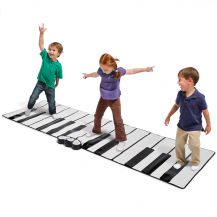 Giant Piano Keyboard Playmat