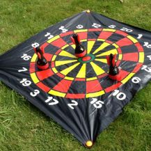 Inflatable Lawn Darts Game