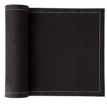 MYdrap Napkin Black 8in x 8in