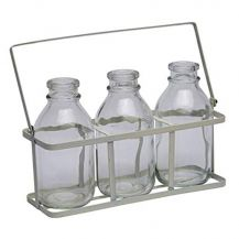Mini Milk Bottle Set (3 Bottles)