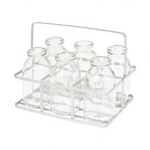 Mini Milk Bottle Set (6 Bottles)