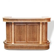 Ornate Wooden Bar Unit