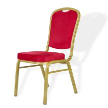 Padded Banquet Chair Red
