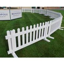 Picket Fence White 1.2m