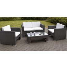 Rattan Outdoor Sofa and Chairs Set